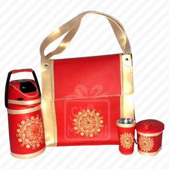 Kit de Terere Rojo Ñanduti